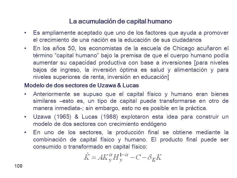La acumulación de capital humano