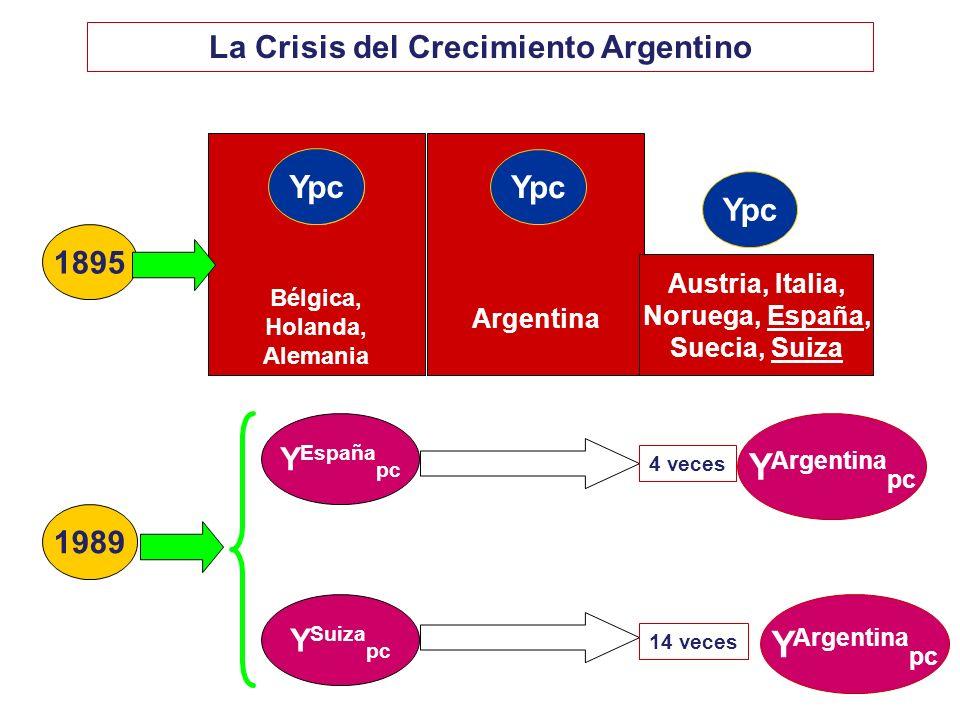 La Crisis del Crecimiento Argentino