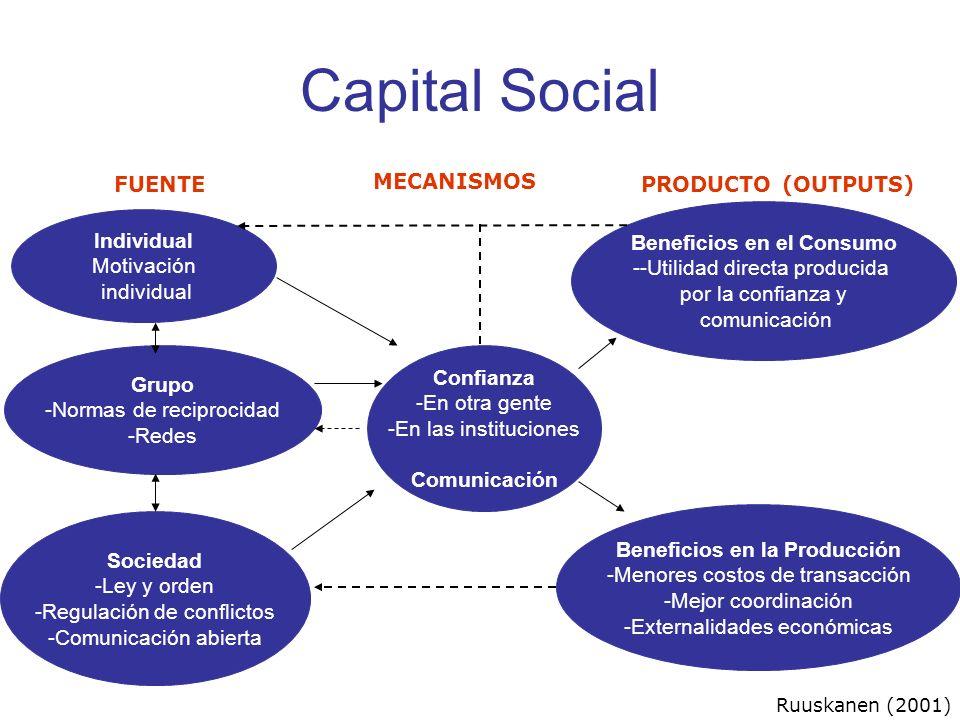 Beneficios en el Consumo Beneficios en la Producción