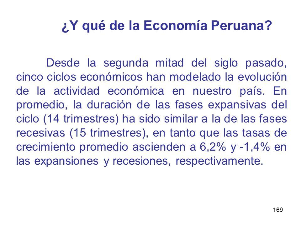 ¿Y qué de la Economía Peruana