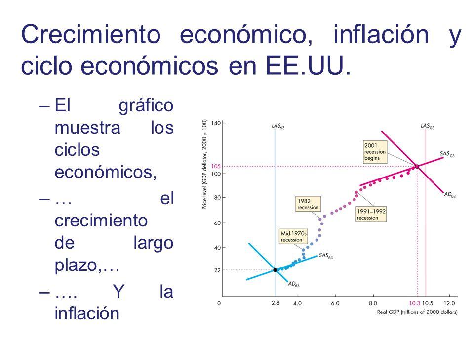 Crecimiento económico, inflación y ciclo económicos en EE.UU.