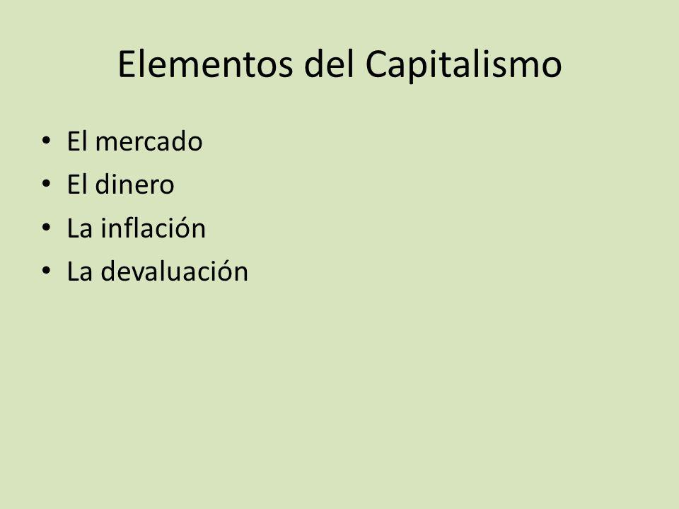 Elementos del Capitalismo