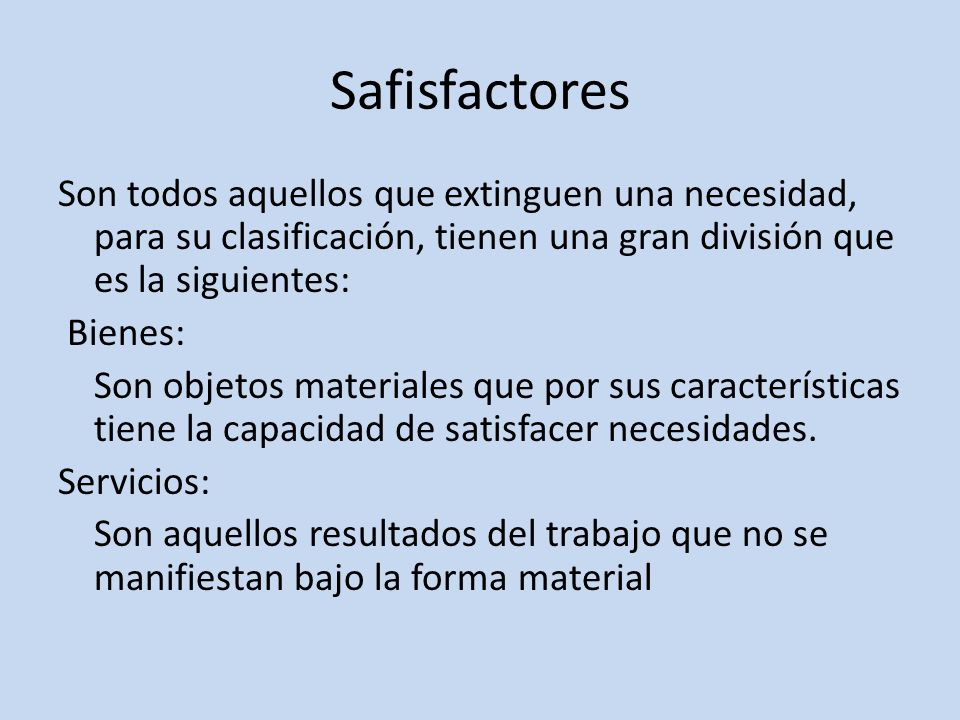 Safisfactores