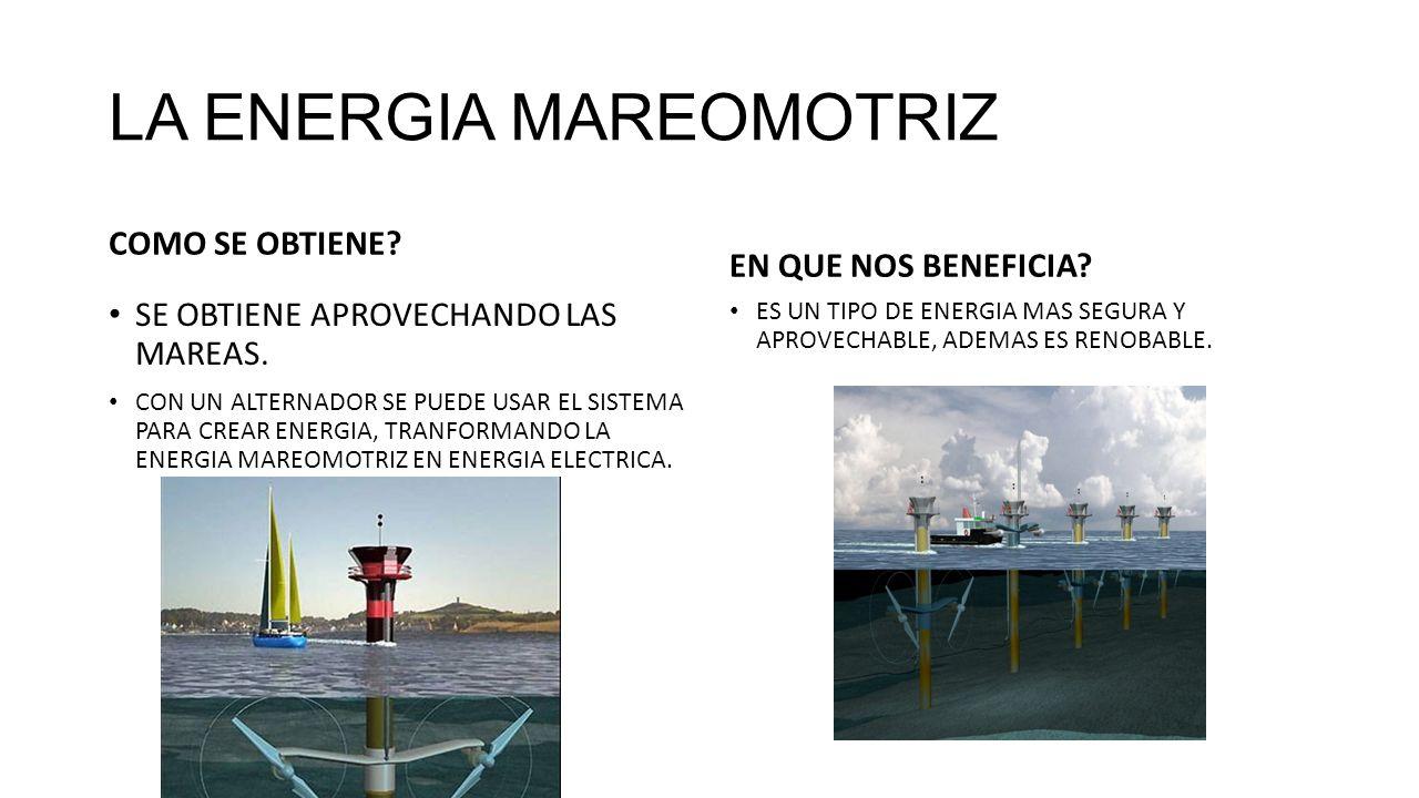 La energia mareomotriz ppt descargar - En que consiste la energia geotermica ...