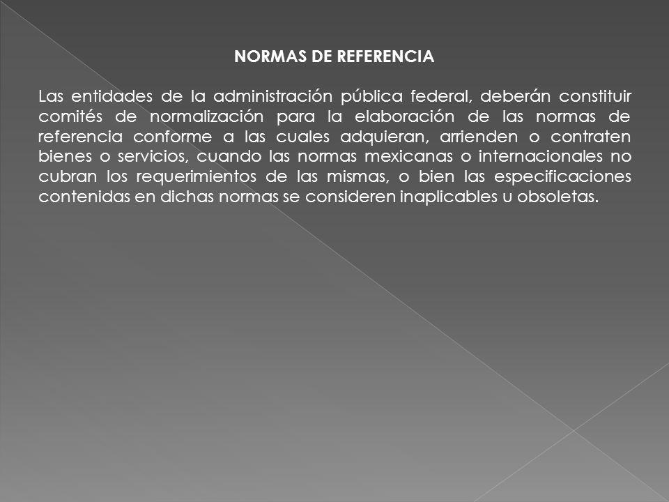 NORMAS DE REFERENCIA