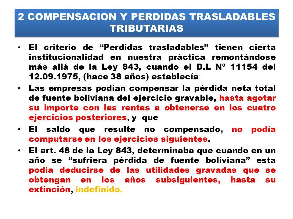2 COMPENSACION Y PERDIDAS TRASLADABLES TRIBUTARIAS