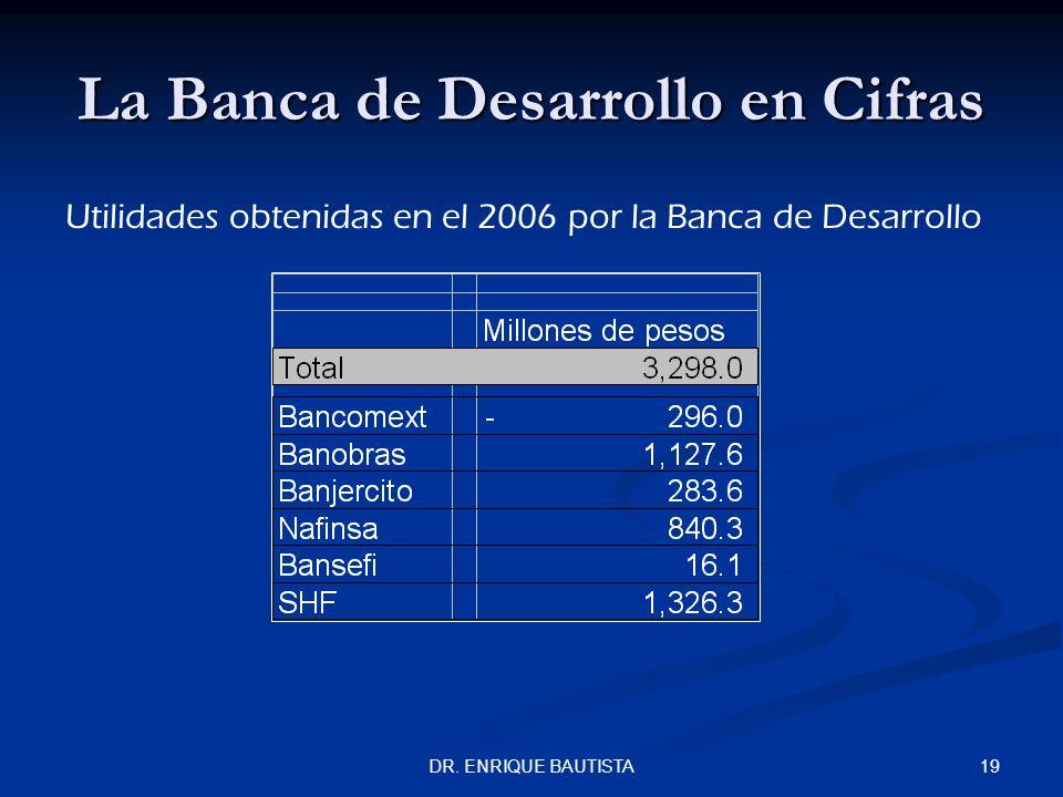 La Banca de Desarrollo en Cifras