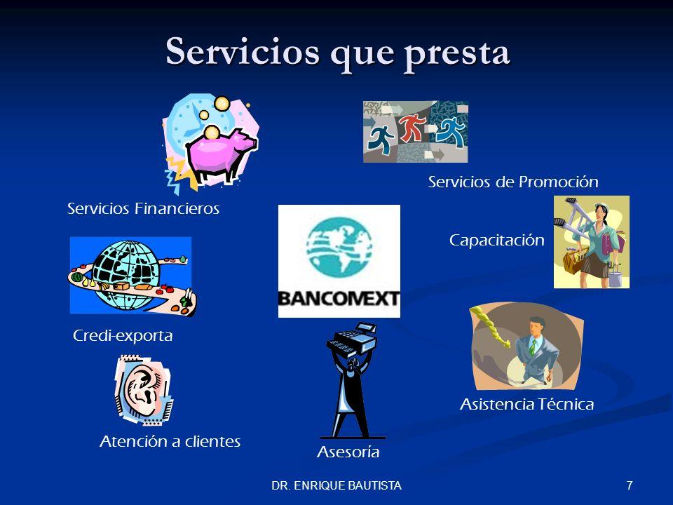 Servicios que presta Servicios de Promoción Servicios Financieros