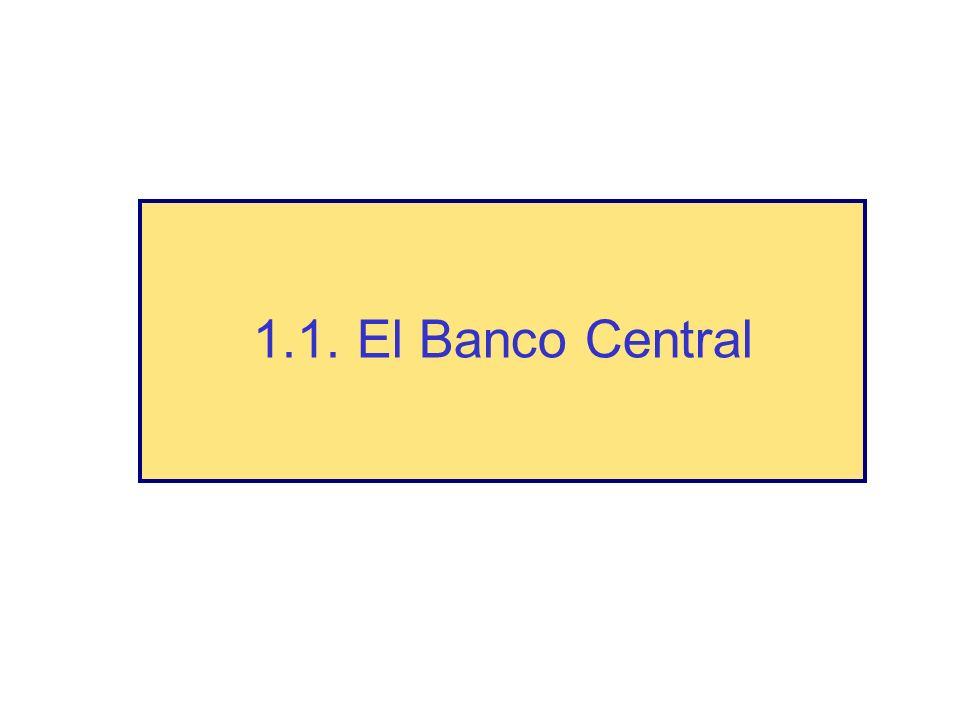1.1. El Banco Central