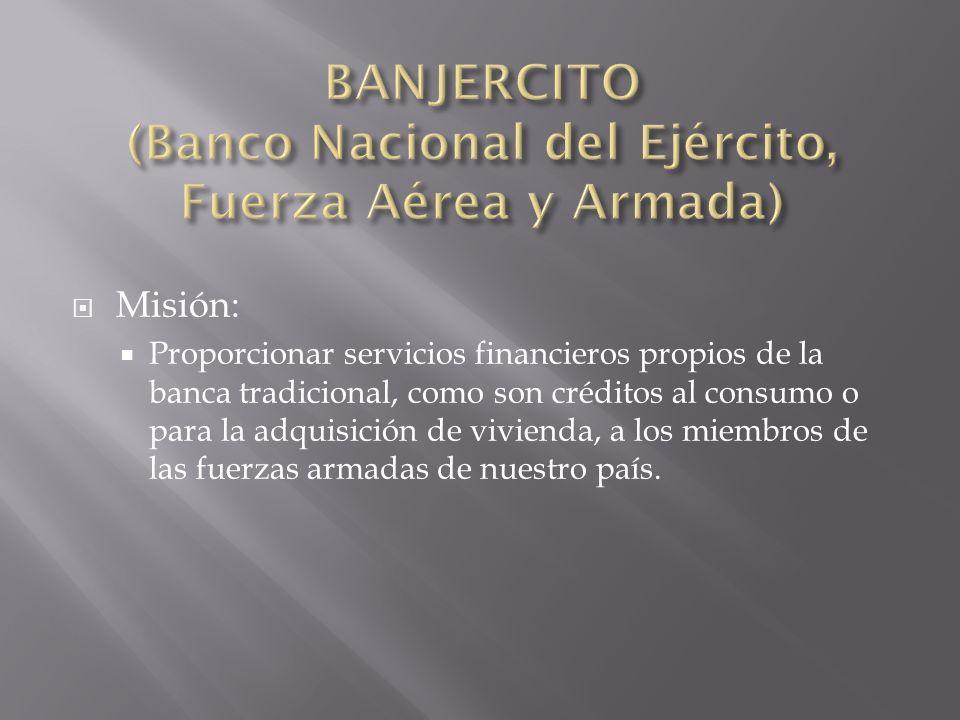 BANJERCITO (Banco Nacional del Ejército, Fuerza Aérea y Armada)