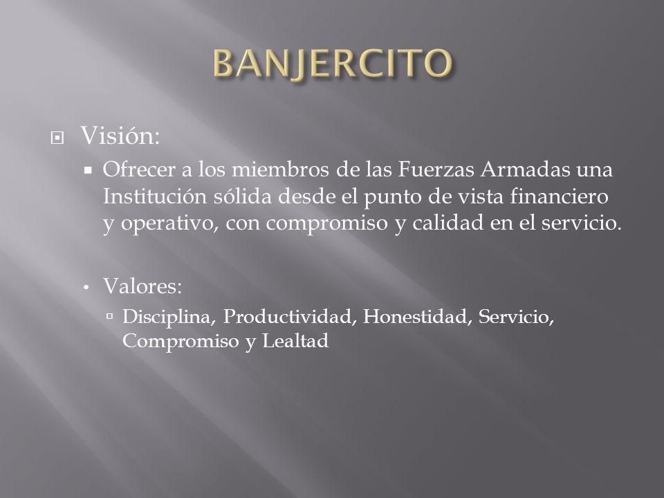 BANJERCITOVisión: