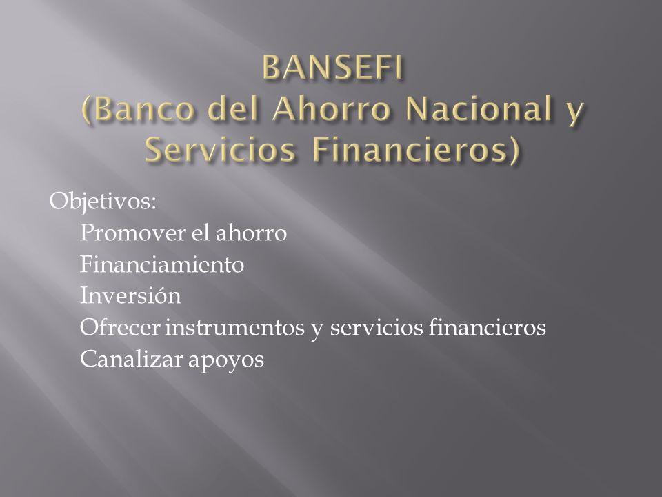 BANSEFI (Banco del Ahorro Nacional y Servicios Financieros)