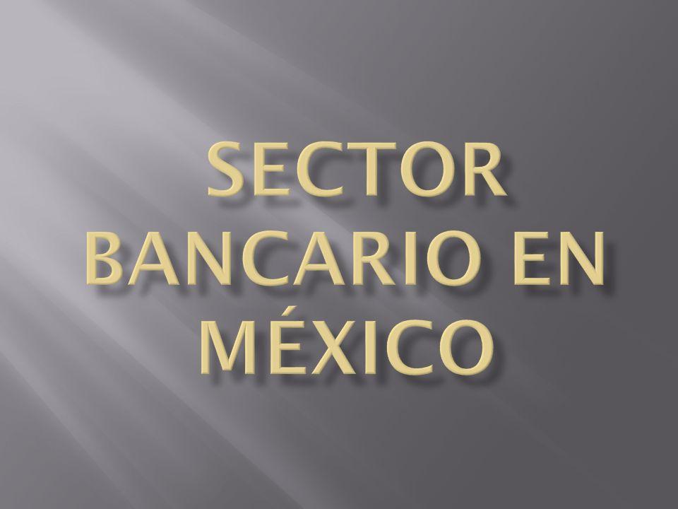 sector bancario en México