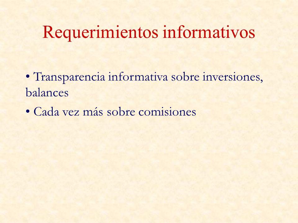 Requerimientos informativos