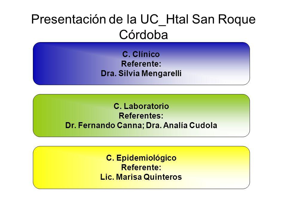 Presentación de la UC_Htal San Roque Córdoba