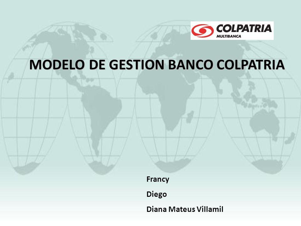 MODELO DE GESTION BANCO COLPATRIA