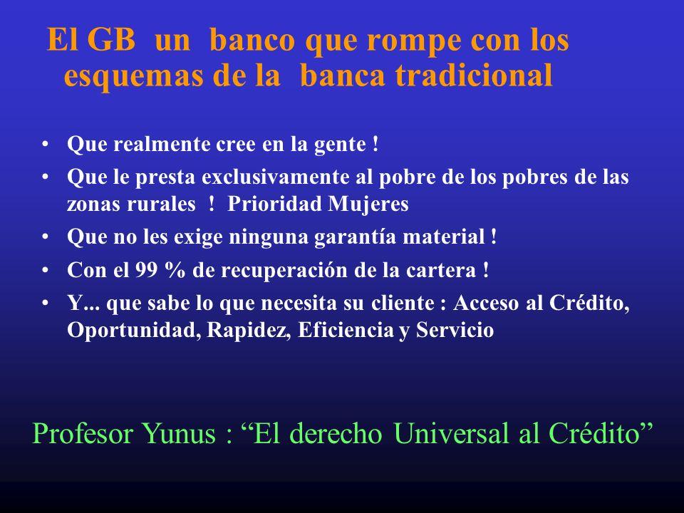 El GB un banco que rompe con los esquemas de la banca tradicional