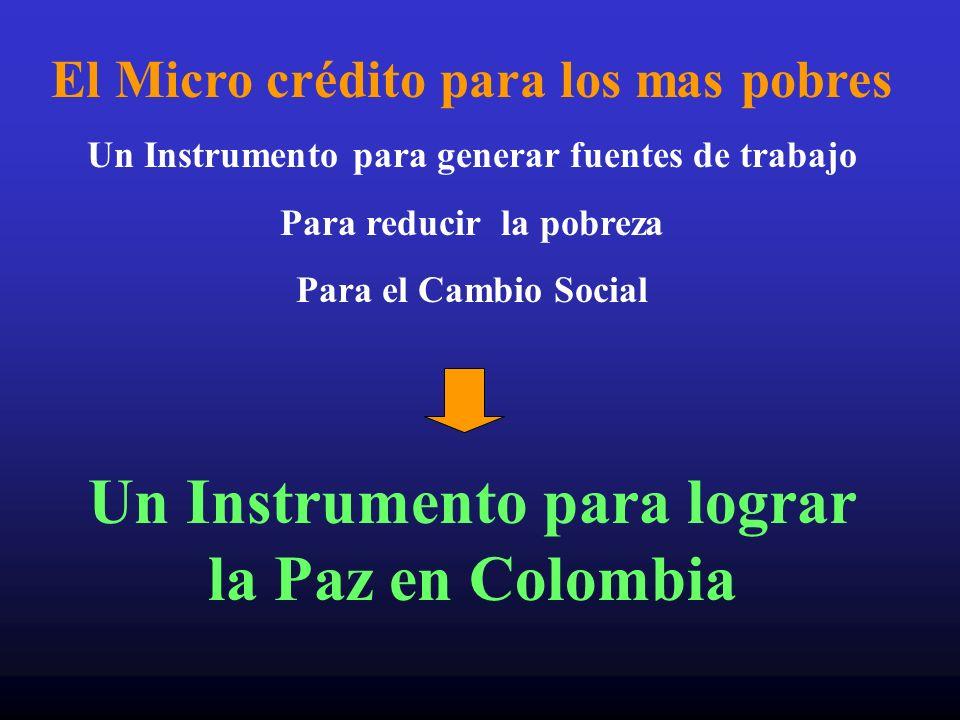 Un Instrumento para lograr la Paz en Colombia