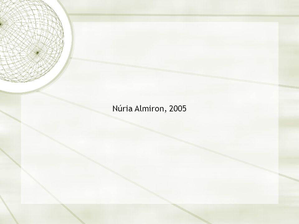 Núria Almiron, 2005