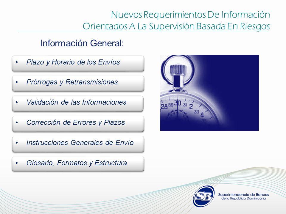 Nuevos Requerimientos De Información Orientados A La Supervisión Basada En Riesgos