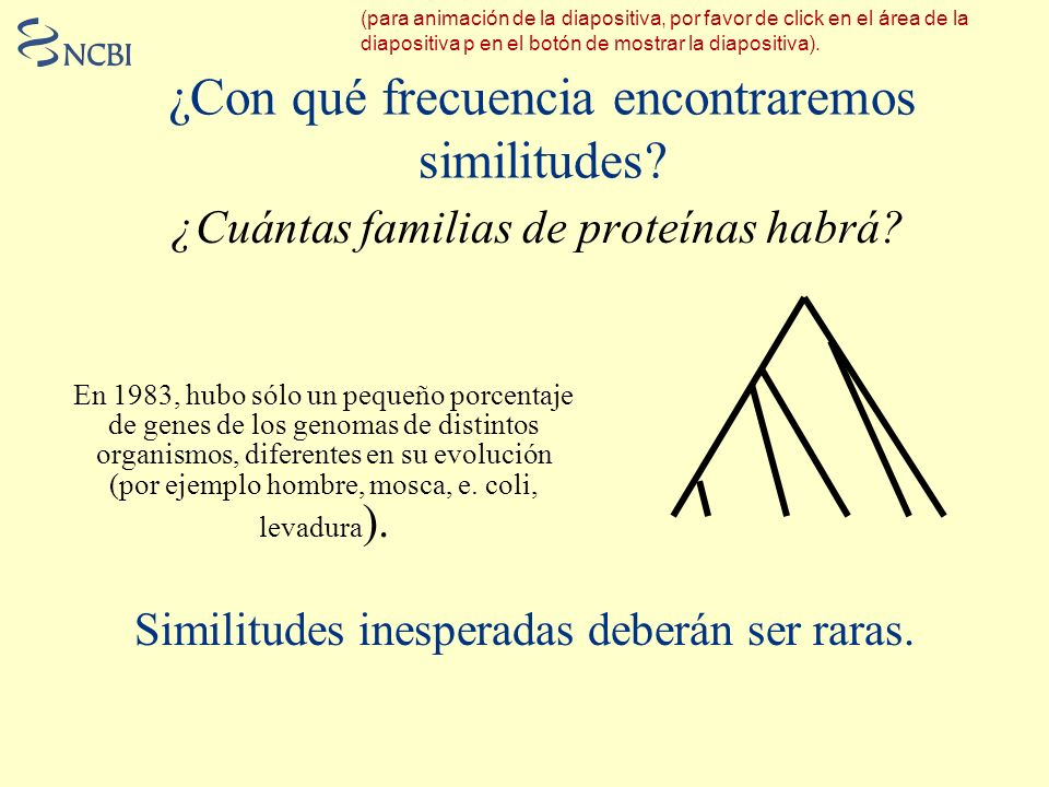 ¿Con qué frecuencia encontraremos similitudes