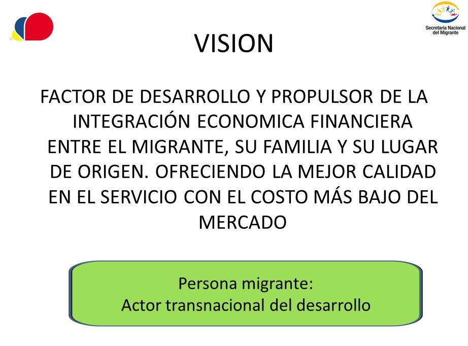 Actor transnacional del desarrollo