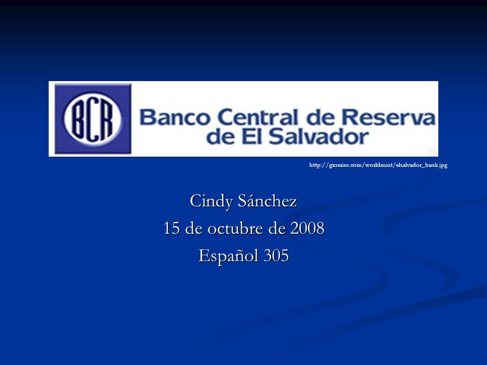 Cindy Sánchez 15 de octubre de 2008 Español 305