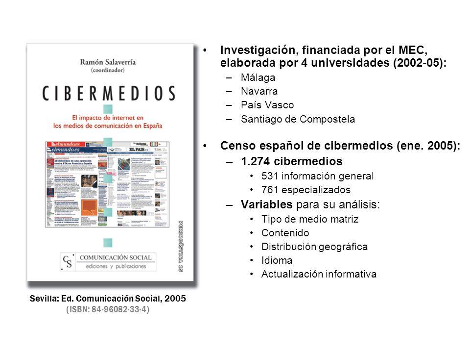Sevilla: Ed. Comunicación Social, 2005 (ISBN: 84-96082-33-4)