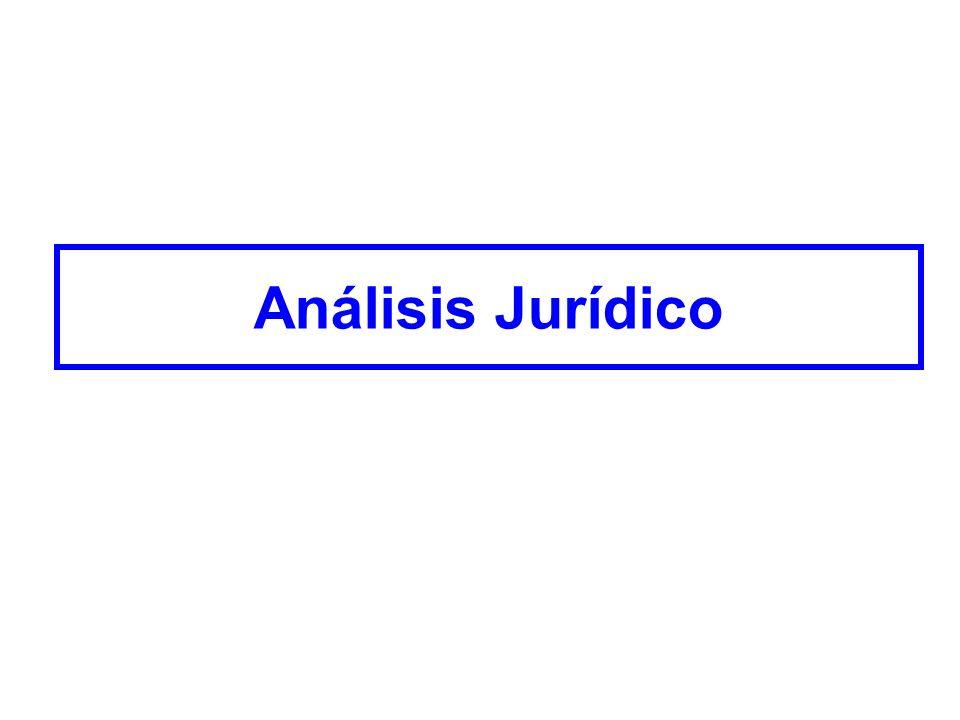 Análisis Jurídico