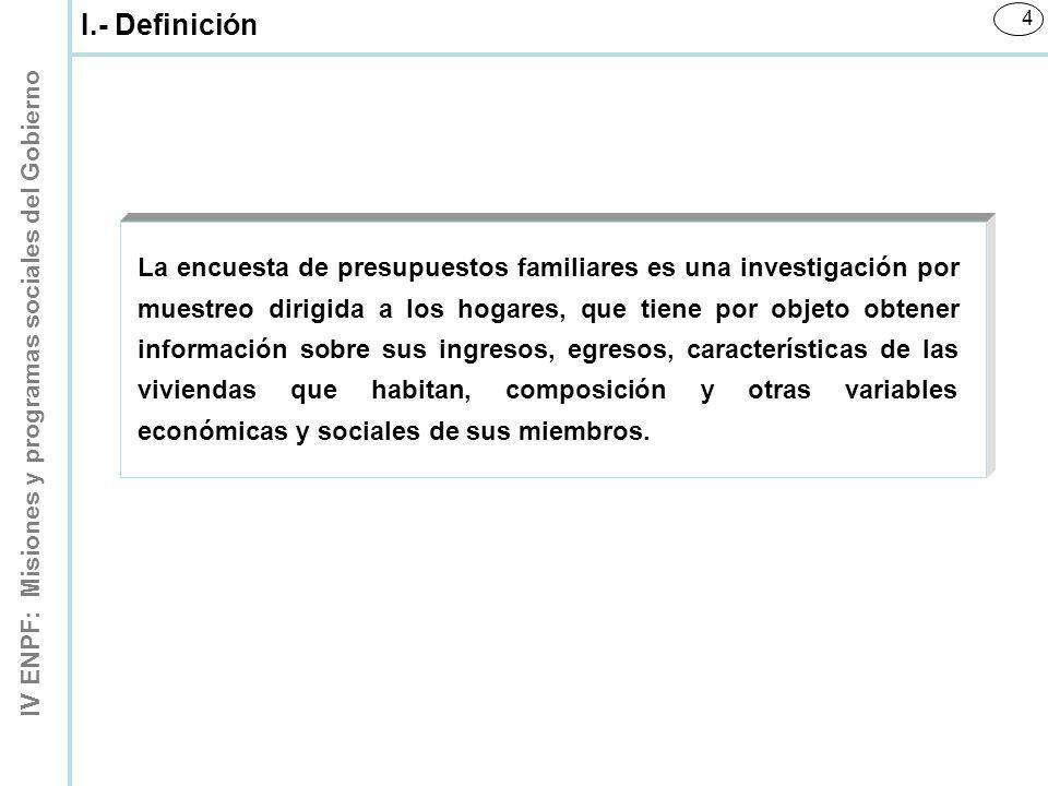 I.- Definición