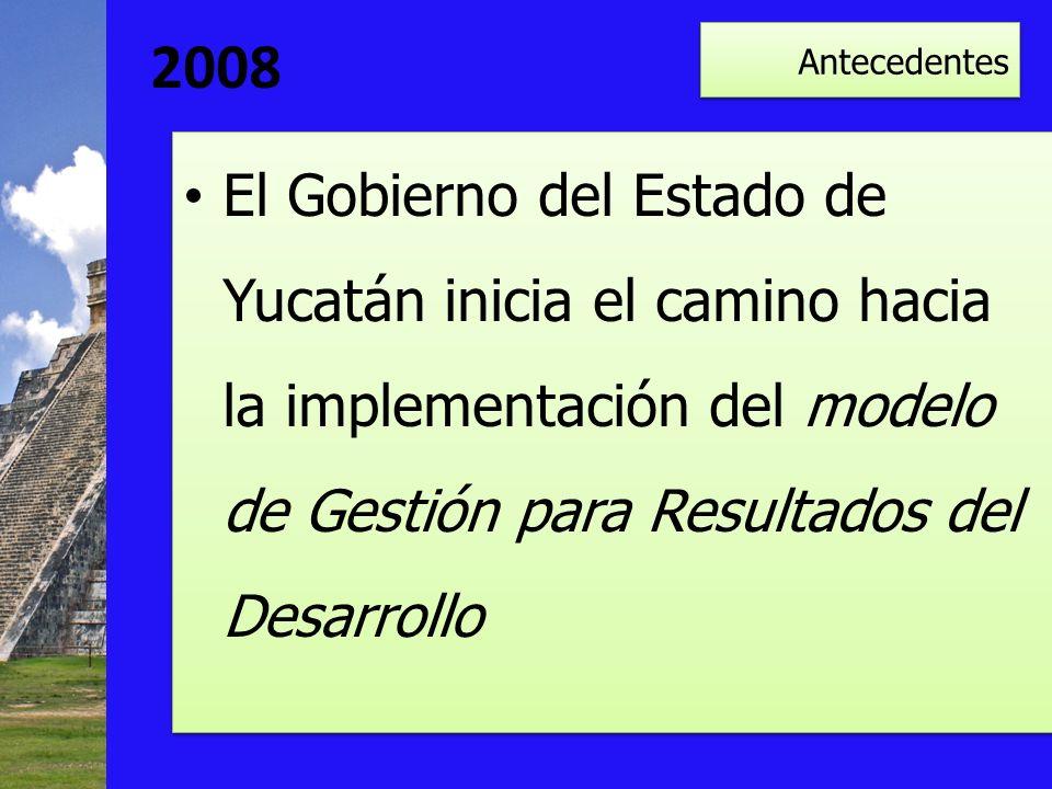 2008 Antecedentes.