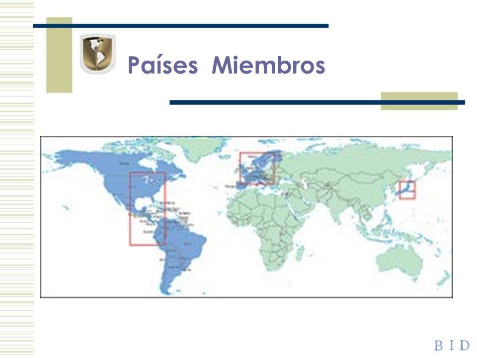 Países Miembros Países miembros