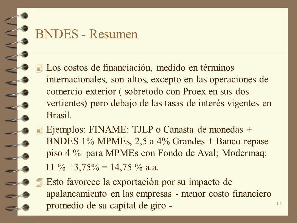 BNDES - Resumen