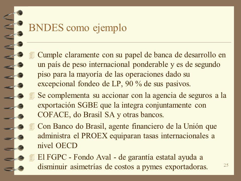 BNDES como ejemplo