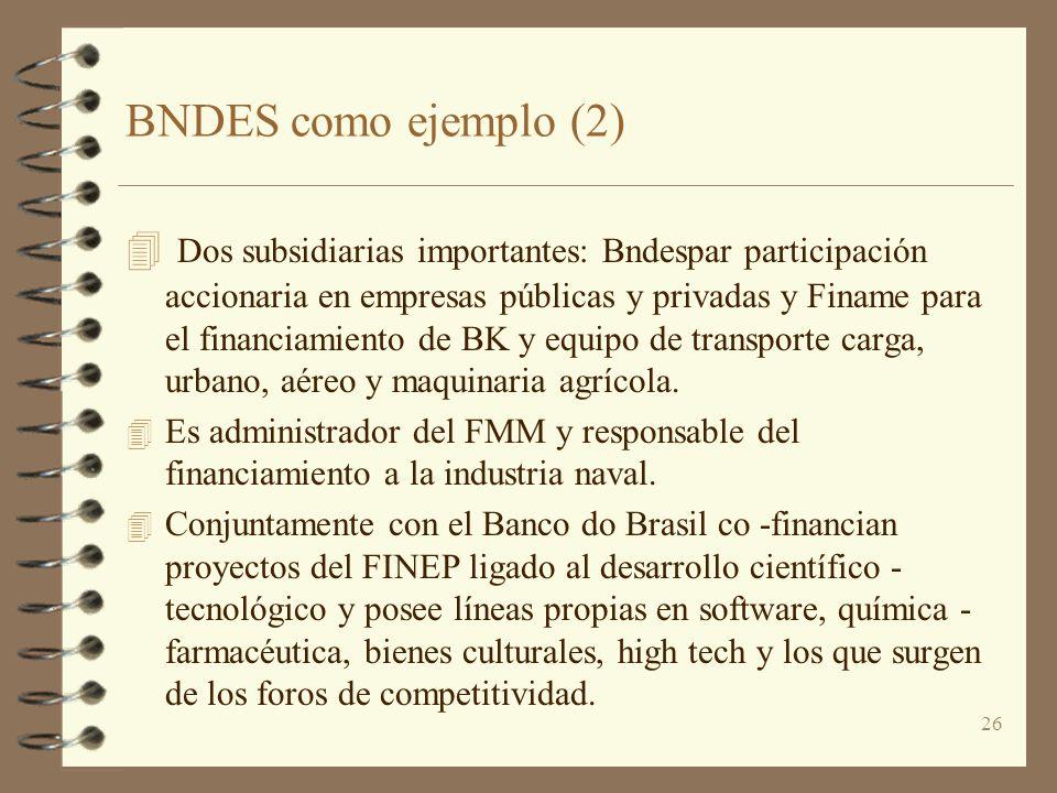 BNDES como ejemplo (2)