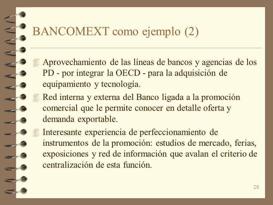BANCOMEXT como ejemplo (2)
