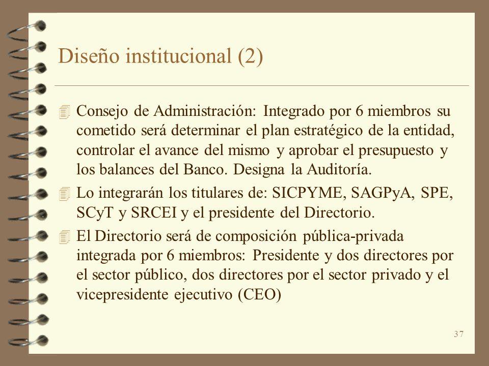Diseño institucional (2)