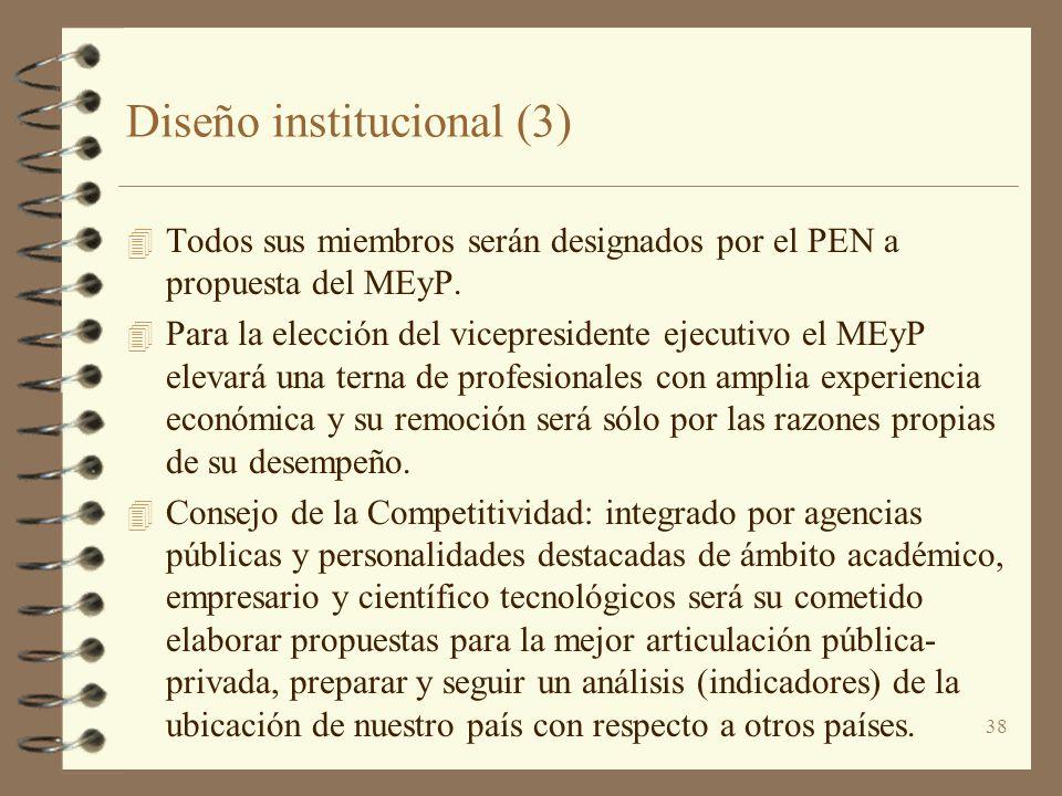 Diseño institucional (3)