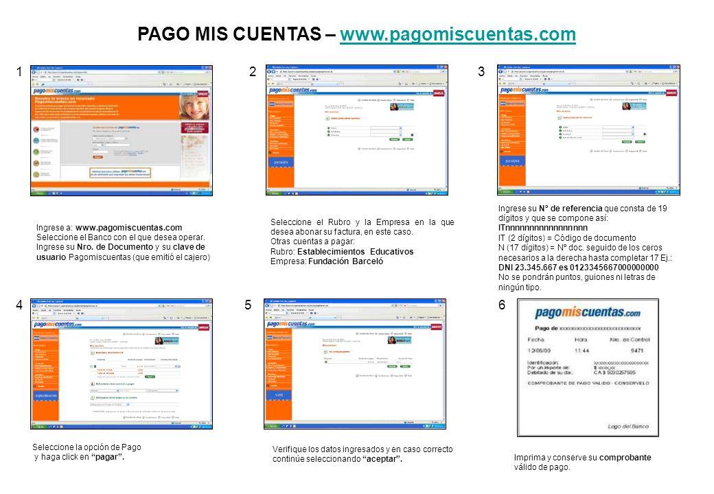 PAGO MIS CUENTAS – www.pagomiscuentas.com