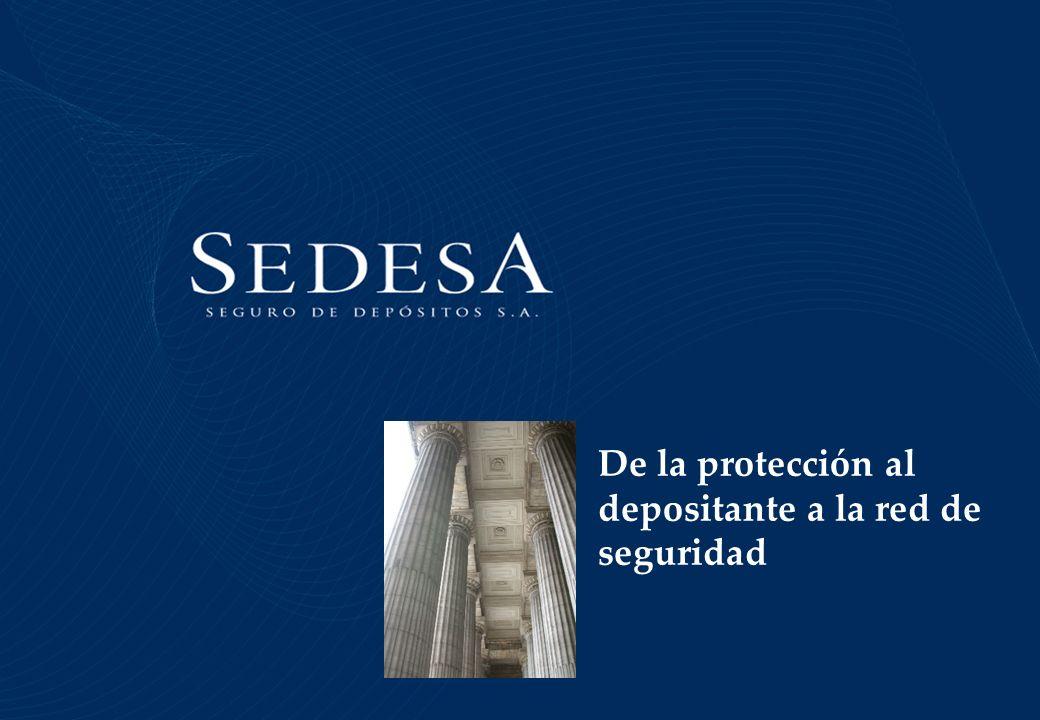 De la protección al depositante a la red de seguridad