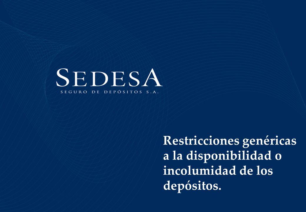 Restricciones genéricas