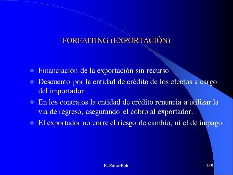 FORFAITING (EXPORTACIÓN)