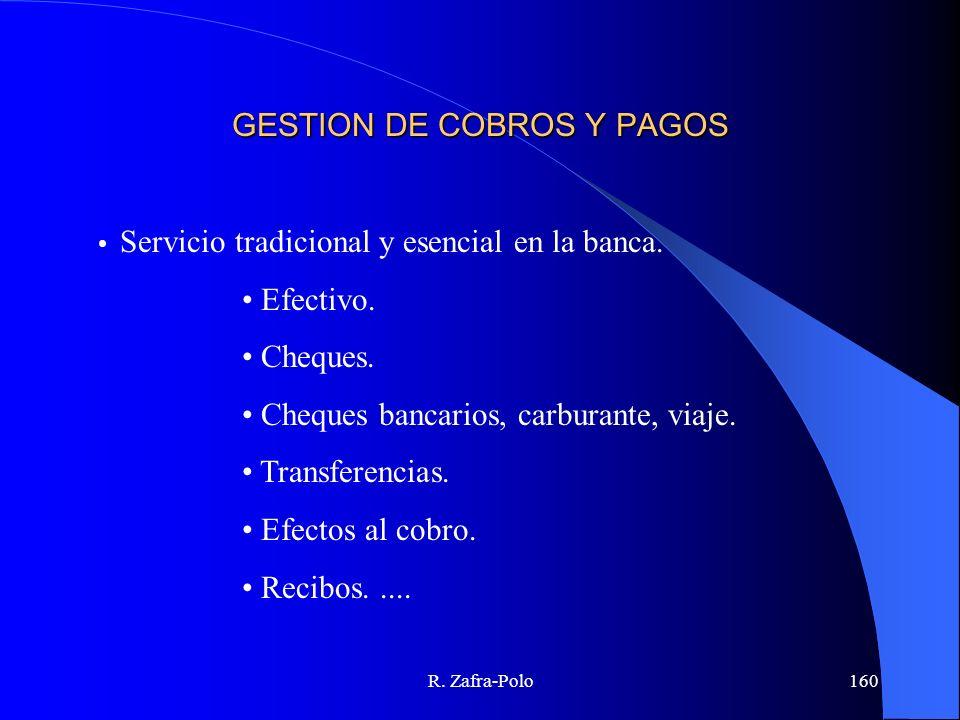 GESTION DE COBROS Y PAGOS