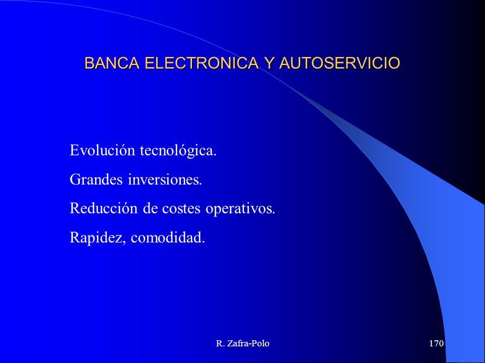 BANCA ELECTRONICA Y AUTOSERVICIO