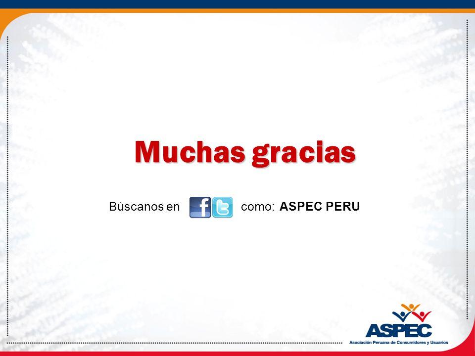 Búscanos en como: ASPEC PERU