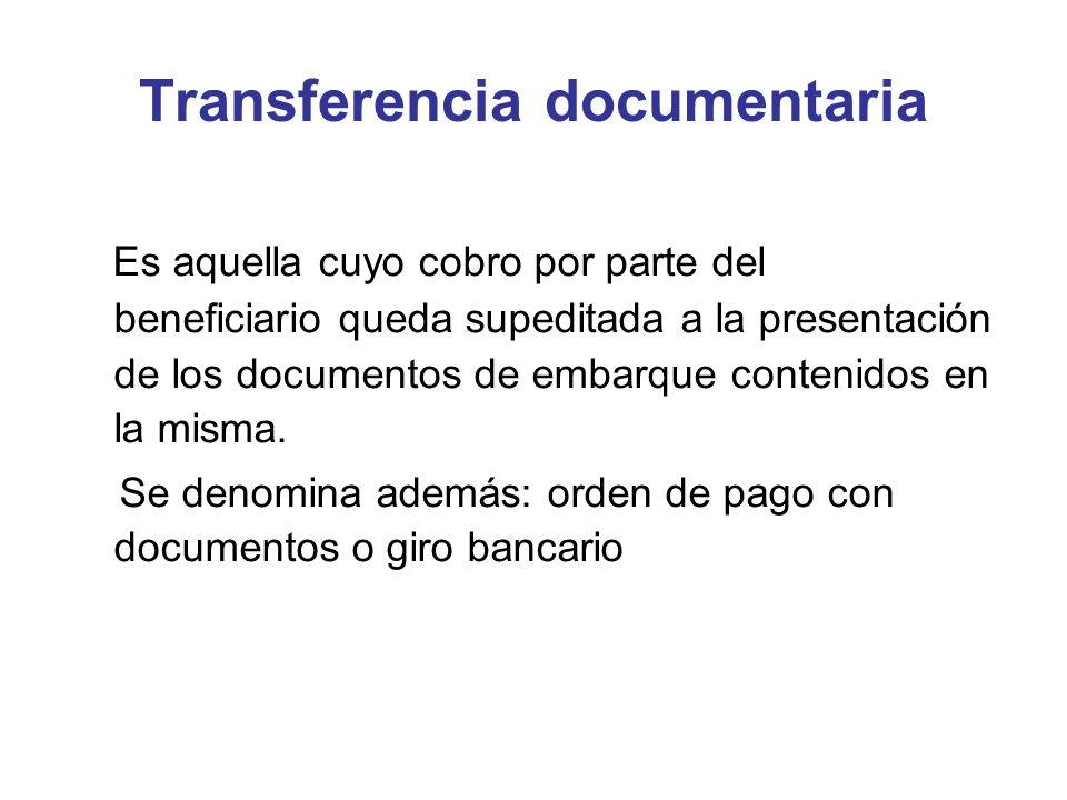 Transferencia documentaria