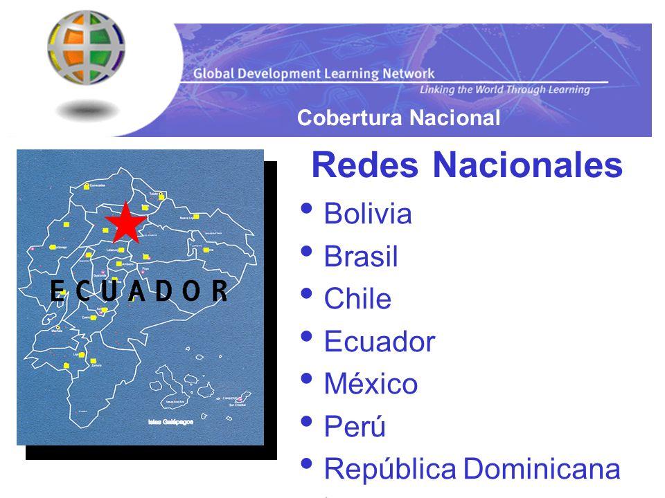 Redes Nacionales Bolivia Brasil Chile Ecuador México Perú