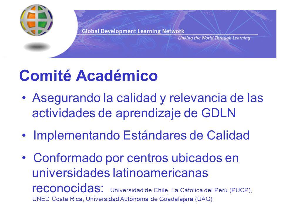 Comité Académico Asegurando la calidad y relevancia de las