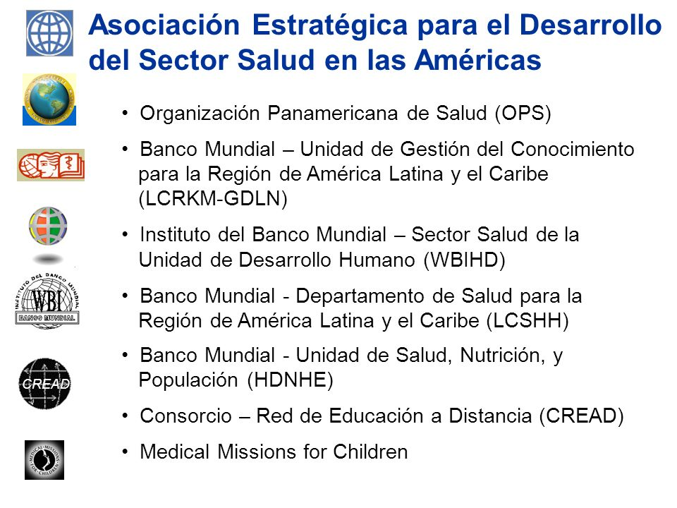 Asociación Estratégica para el Desarrollo del Sector Salud en las Américas