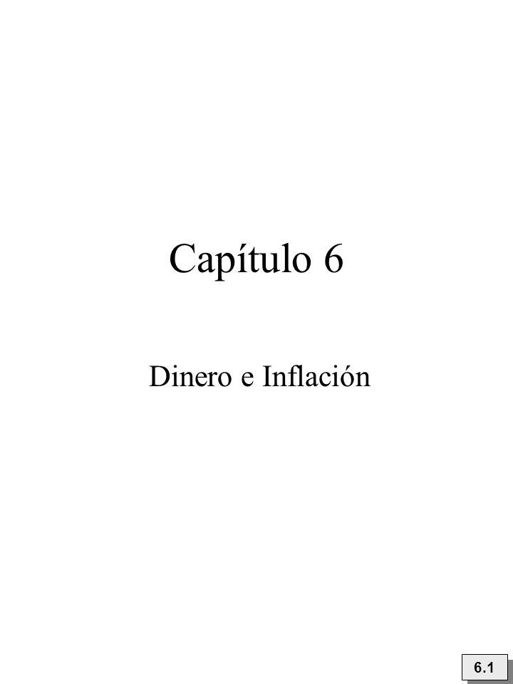 Capítulo 6 Dinero e Inflación 6.1